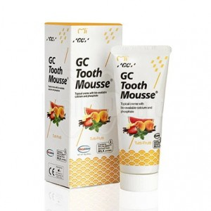 GC TOOTH MOUSSE PASTE- płynne szkliwo bez fluoru 35ml - TUTTI-FRUTTI