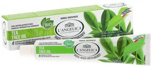 L'ANGELICA Tea Tree Oil 100% naturalna pasta do zębów 75ml