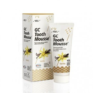 GC TOOTH MOUSSE PASTE- płynne szkliwo bez fluoru 35ml - WANILIA